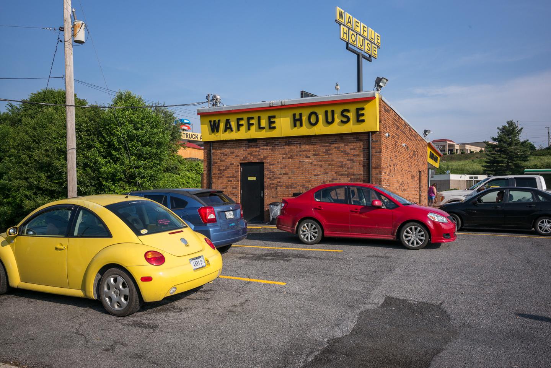 Waffle House. Wytheville, Virginia 2015
