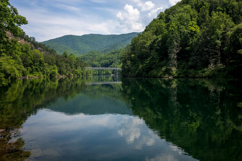 Bridge. Cheoah Lake, Tennessee 2015
