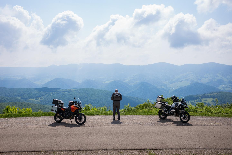 View atop Spruce Knob, West Virginia 2015