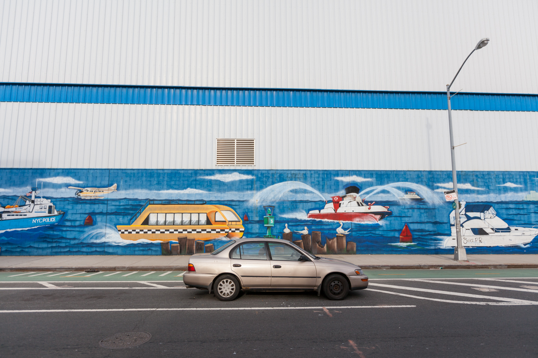 Vehicles. Williamsburg, Brooklyn 2012