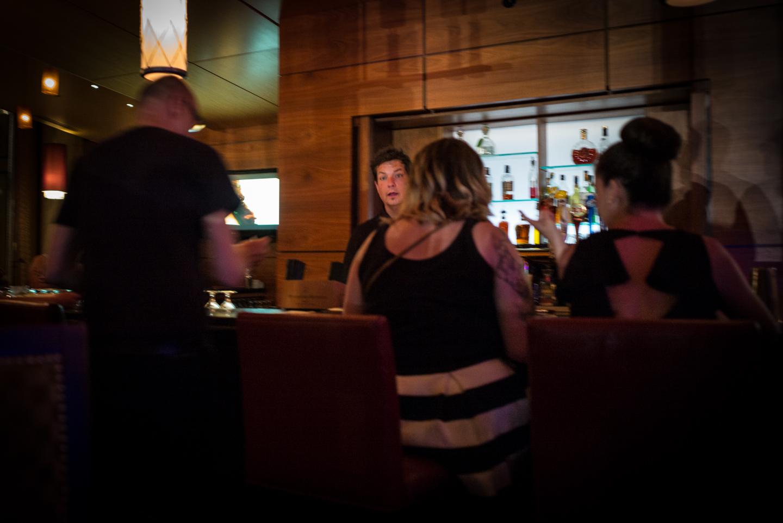 Bar, Service Night Out. Lancaster, Pennsylvania 2015