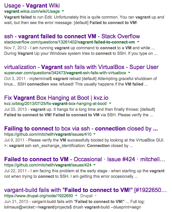 """Failed to connect VM"" issues. Yeah, I tried every single one and more."