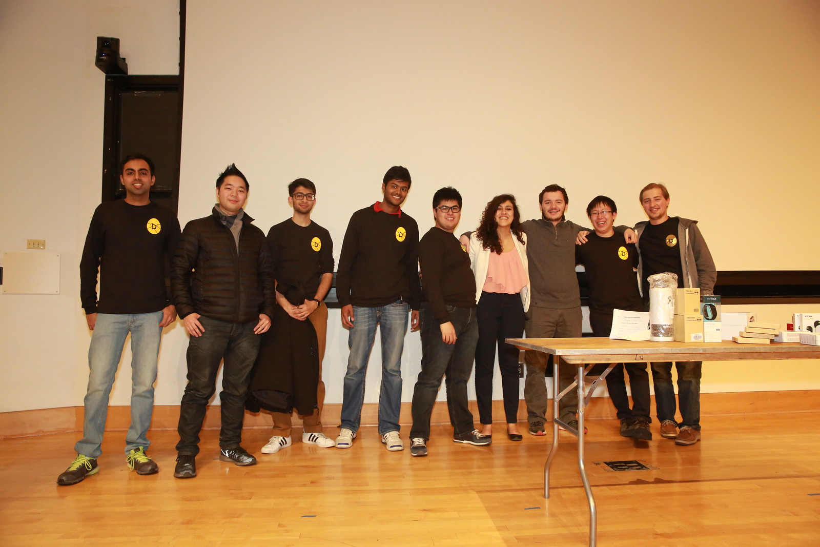 Dragon Hacks 2016 volunteers and organizers