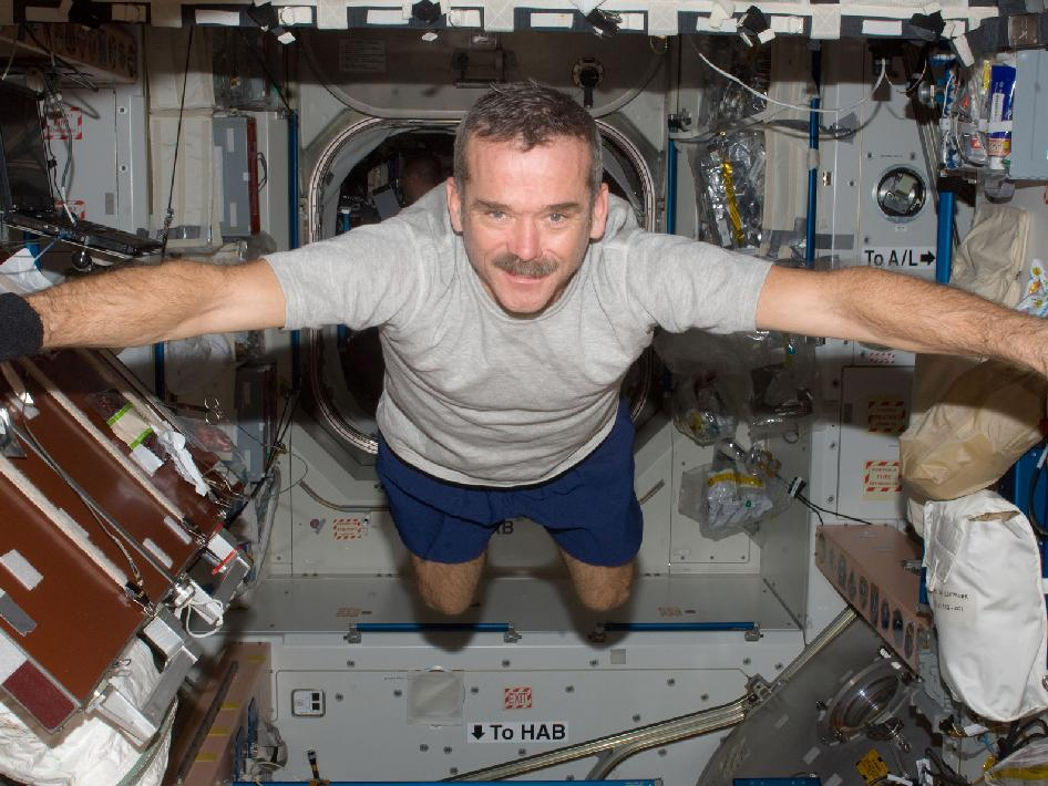 Chris Hadfield, the people's awesome step-dad of space.