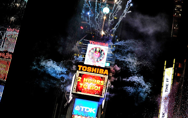 New Years 2015 in Times Square