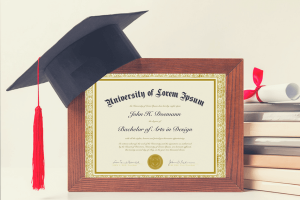 A College Degree Is The Standard for Proof Of Higher Education