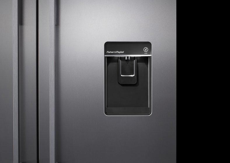 Fisher & Paykel. Ice & Water Dispenser