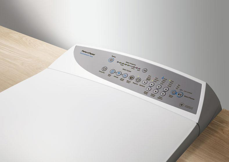 Fisher & Paykel. Washing Machine Interface Design
