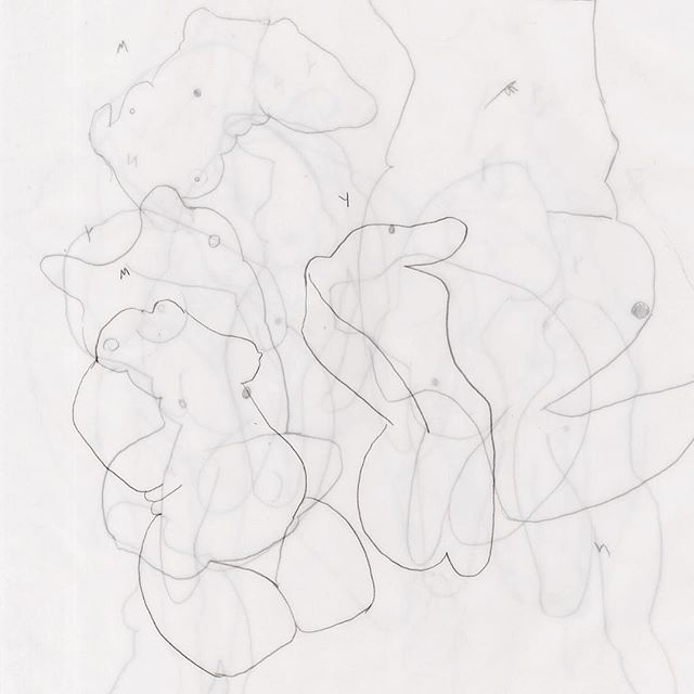 #flashbackfriday to 2011 when all I drew were these nubins. I'll be posting more of these soon. #figuredrawing #femalenude #objectness #materialism • • • • • • • • #austinartist #sketch #tracingpaper #blueprint #figuredrawing #figurepainting #malegaze #fucked #femaleartist #houstonartist #texasartist #contemporarydrawing #atxartist #atxlife #femalebodybuilder #jadeabner #drawinglife #contemporaryart #contemporarypainting #contemporarydance
