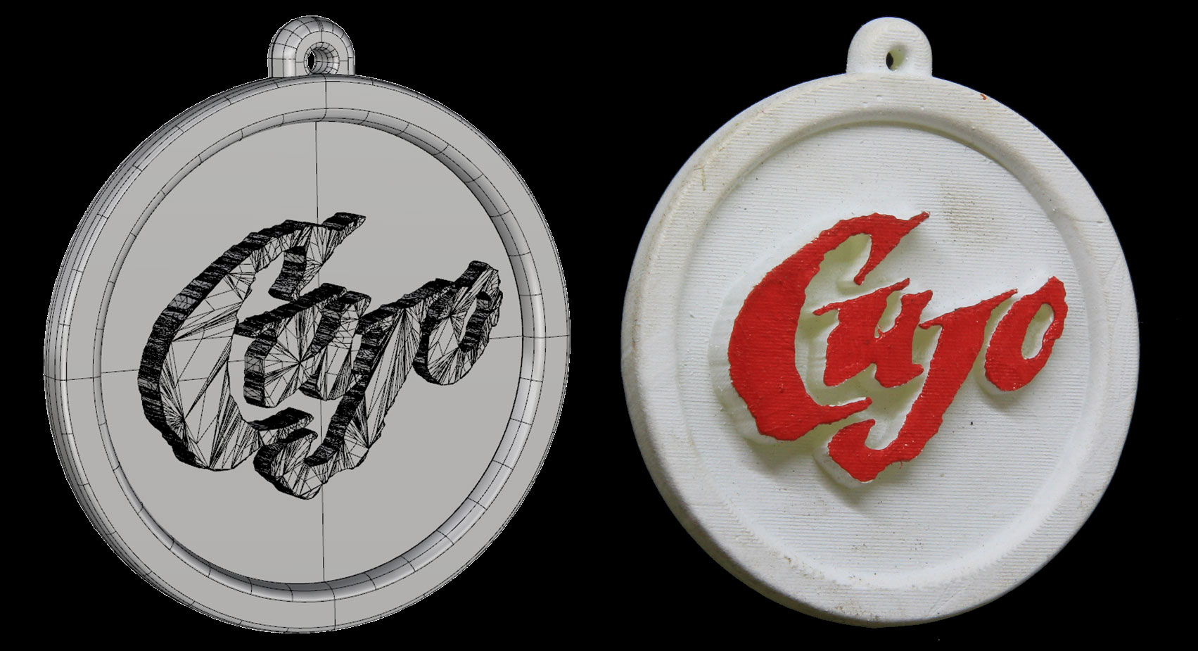 Cujo Dog Tag