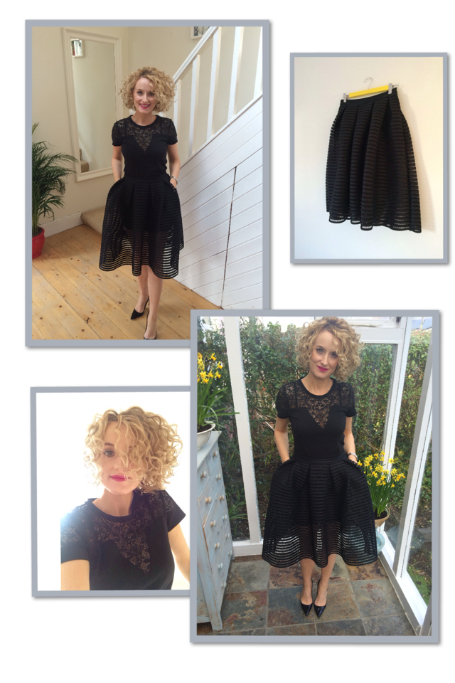 Maje Black Skirt | Personal Stylist Ireland
