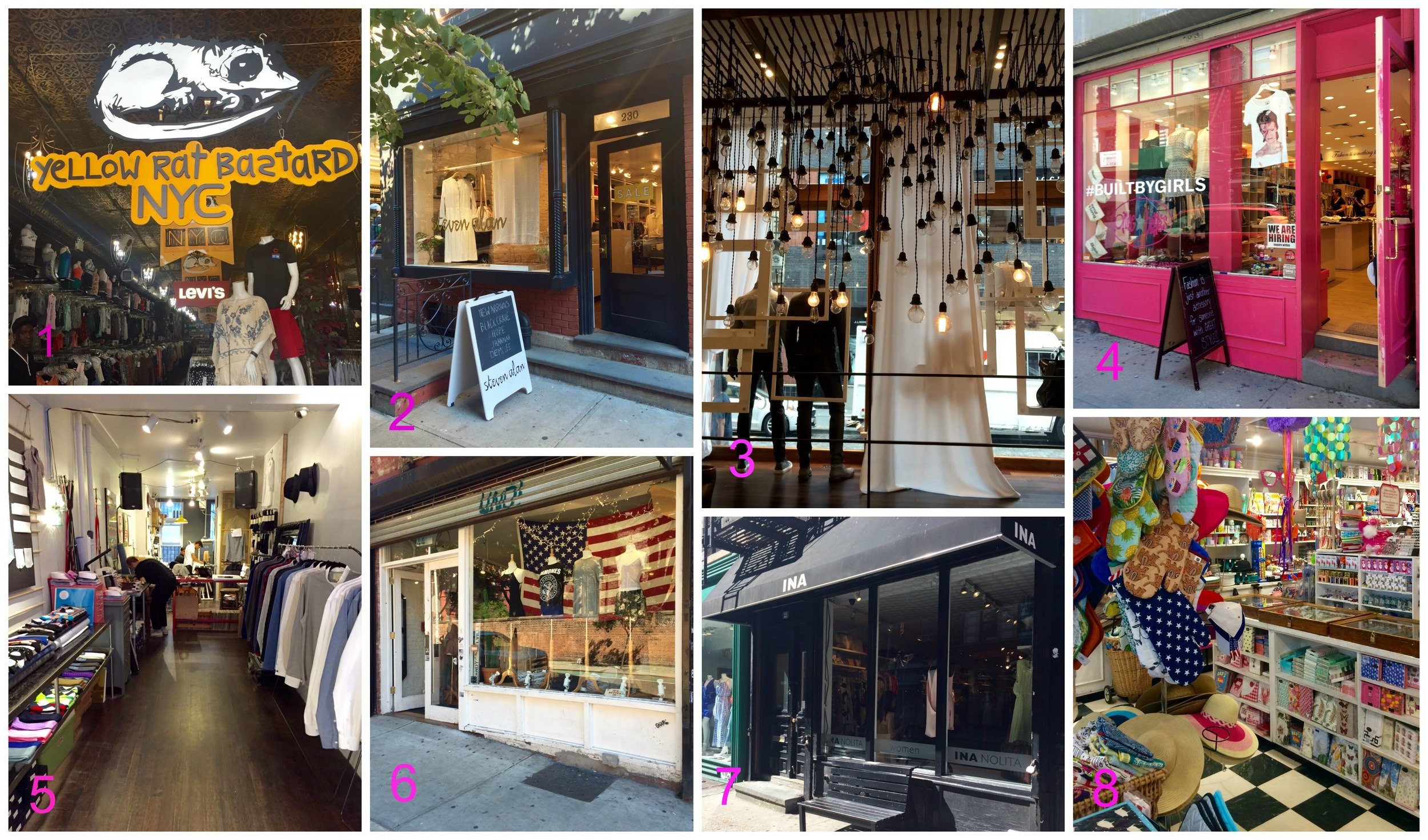16 shops to visit in New York