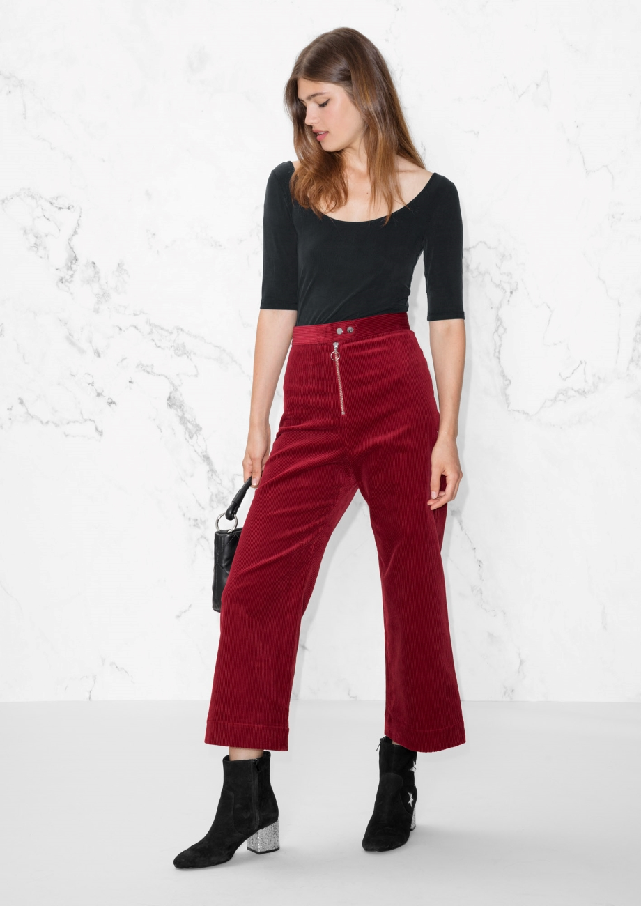 Corduroy Trousers -€69