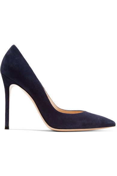 Navy Pointy Pump