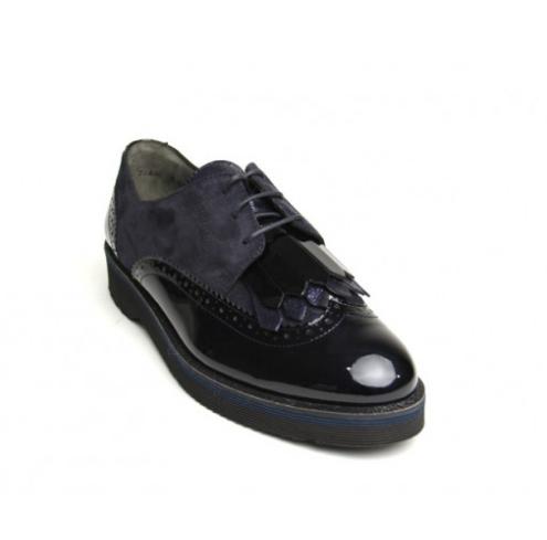 Navy Flat Shoe