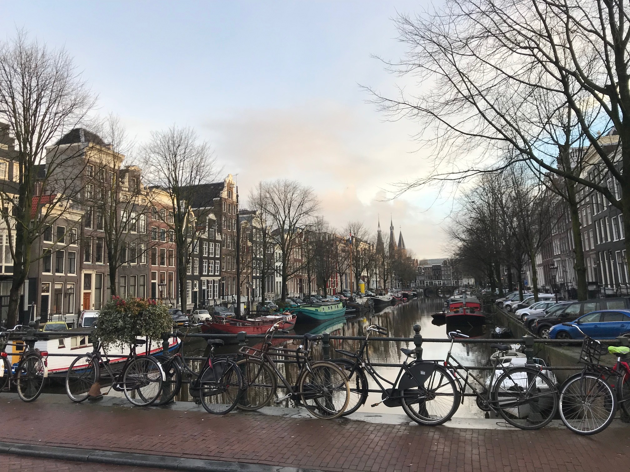 Passing over a canal on the way to the EACR Cell Death Meeting. - Amsterdam, NL, 1 Feb 18