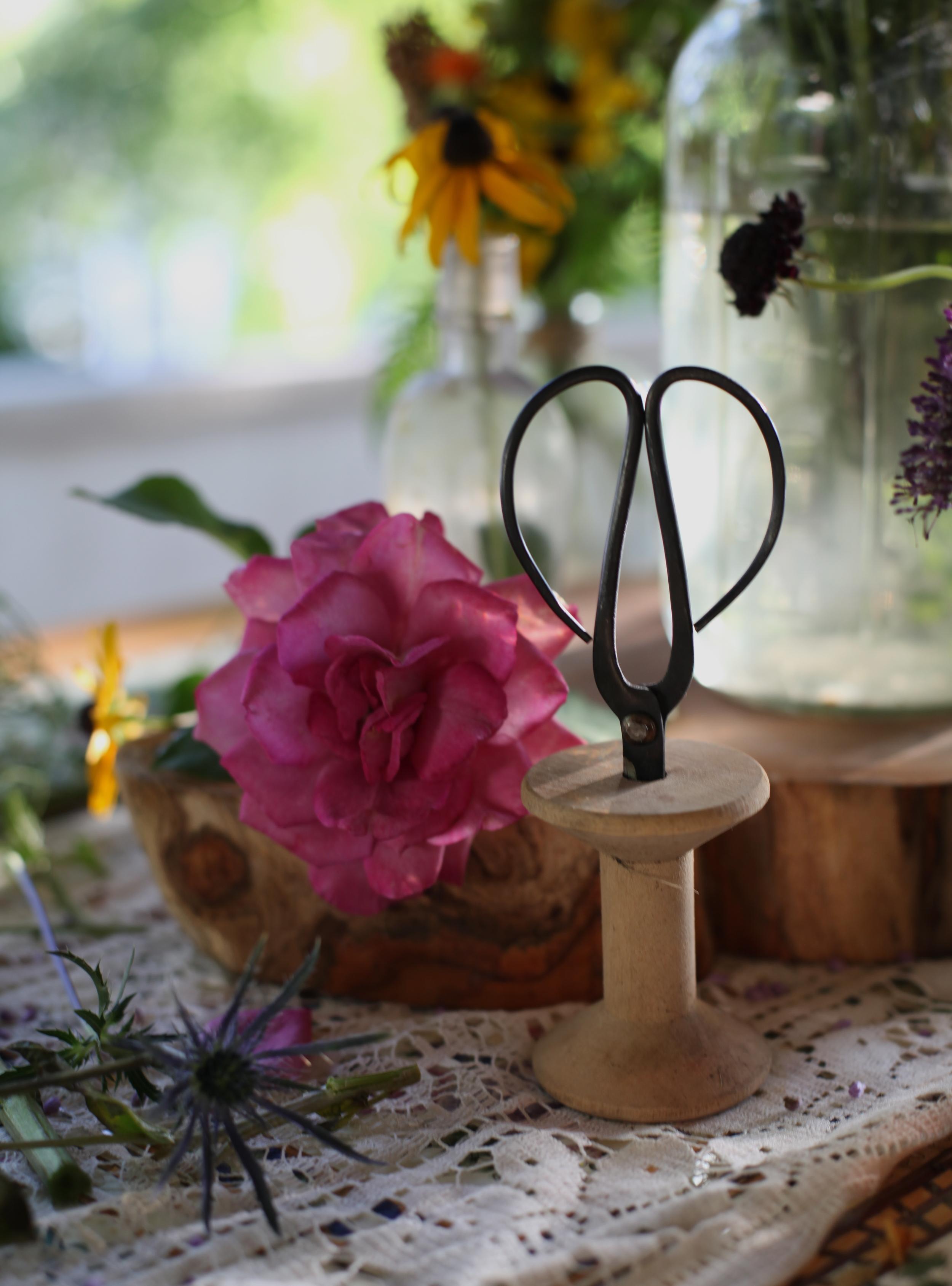 inks+thread floral potluck
