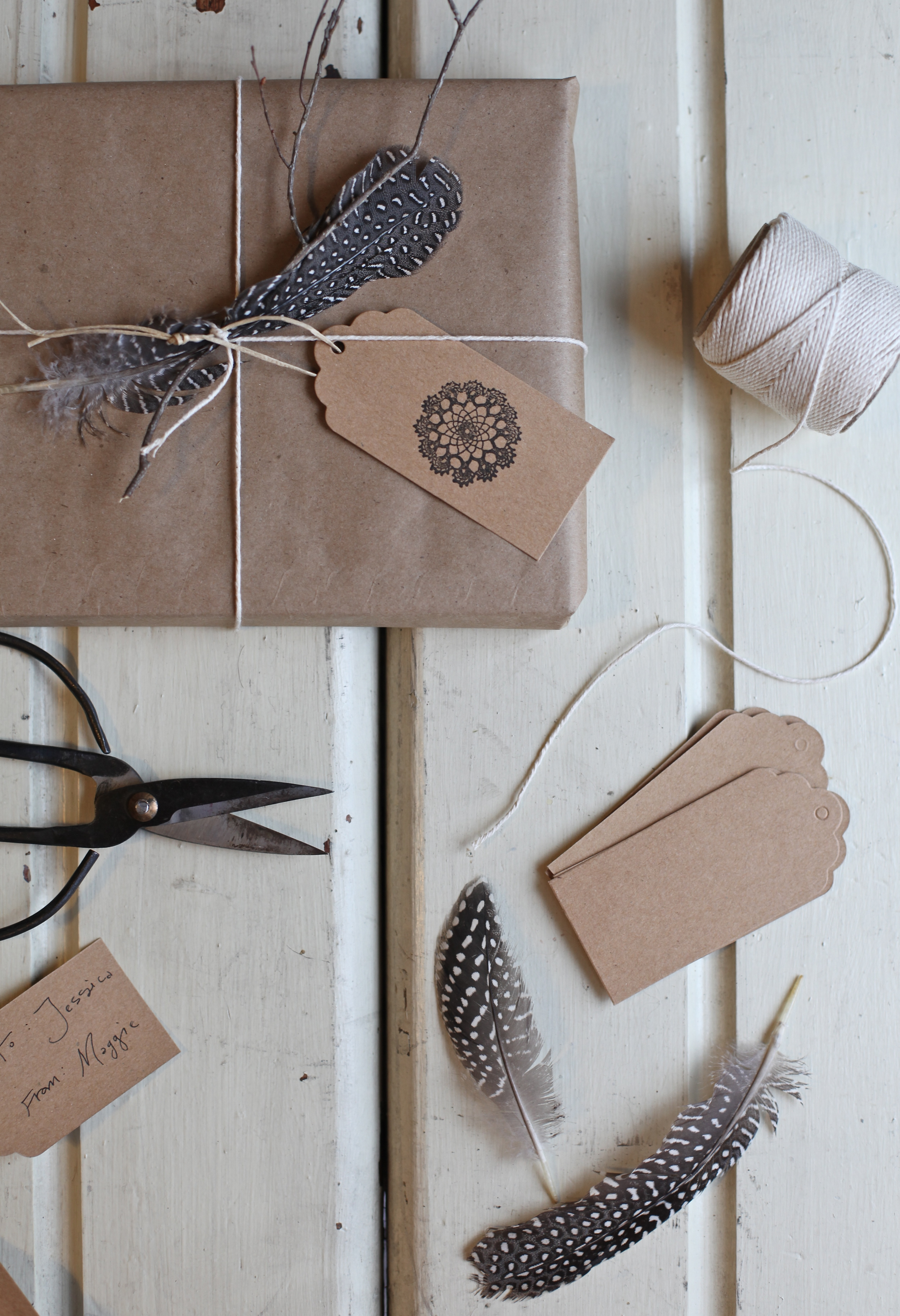 gift wrapping by Maggie Pate
