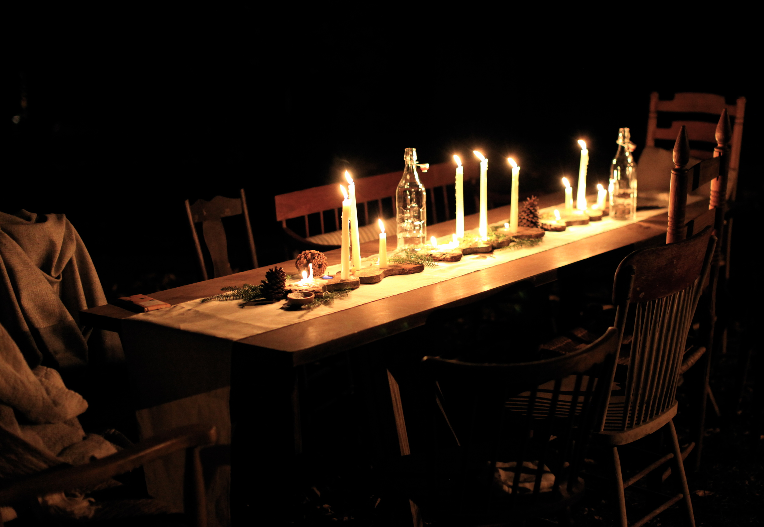 candle crafting gathering