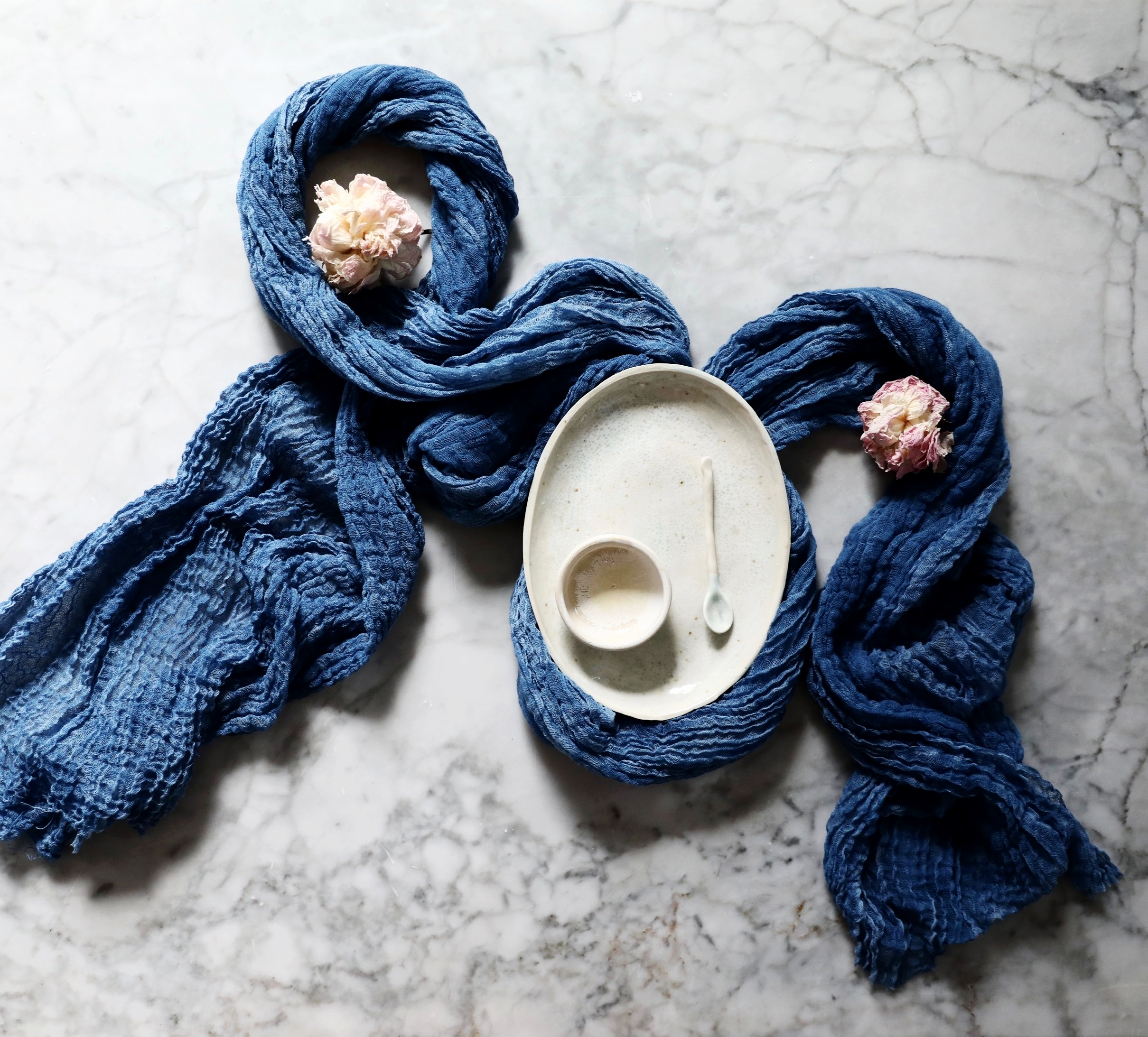 TABLE LINENS - naturally dyed textiles for your table