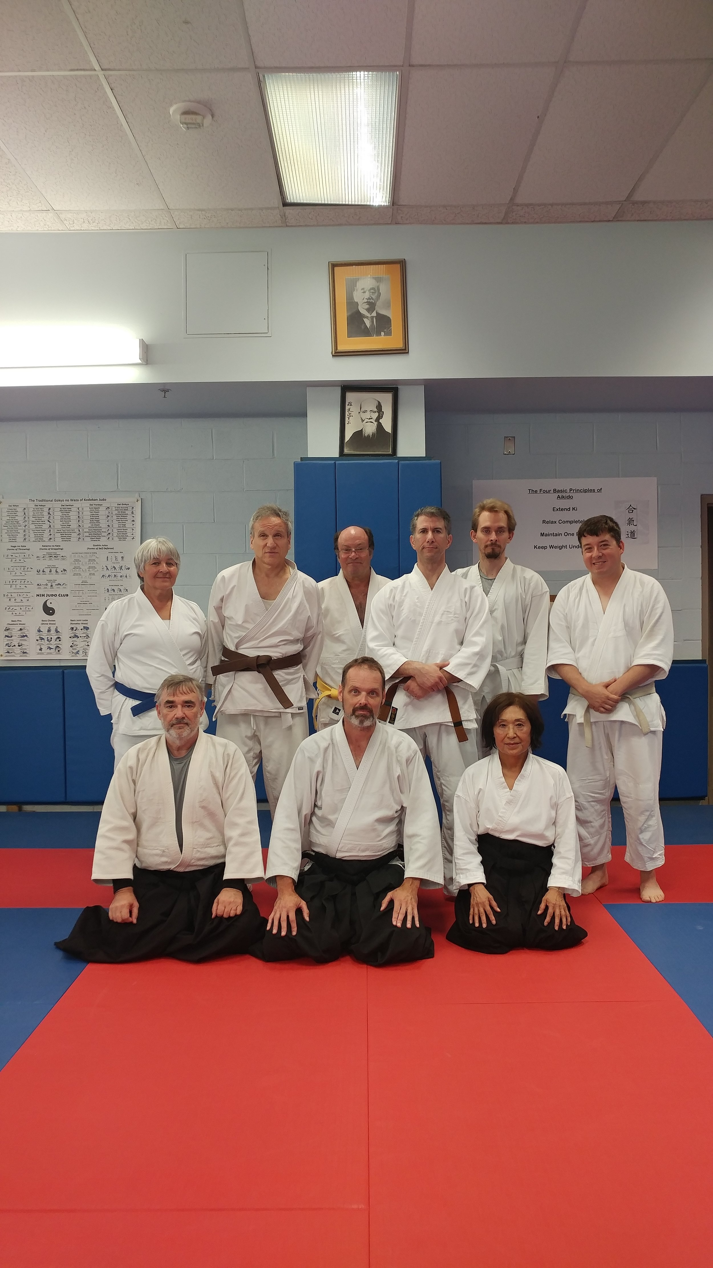 Aikido seminar conducted by John Whatley Sensei on July 22nd, 2017 at the NIH dojo in Bethesda, Maryland.