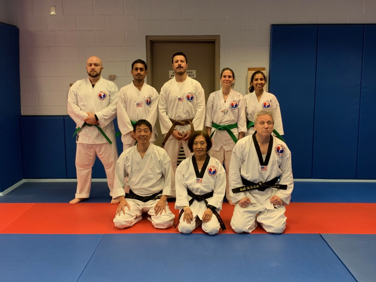 Congratulations to Ray Subhasis, Dinuka De Silva, Laurie Lannes, and Benjamin Fadl for their successful completion of the Green Belt Stripe exam on May 6th, 2019. NIH Taekwondo looks forward to holding more promotional exams in the near future.