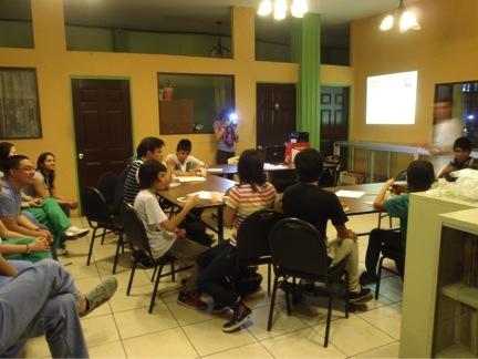 Health Education Class at Project Alajuelita