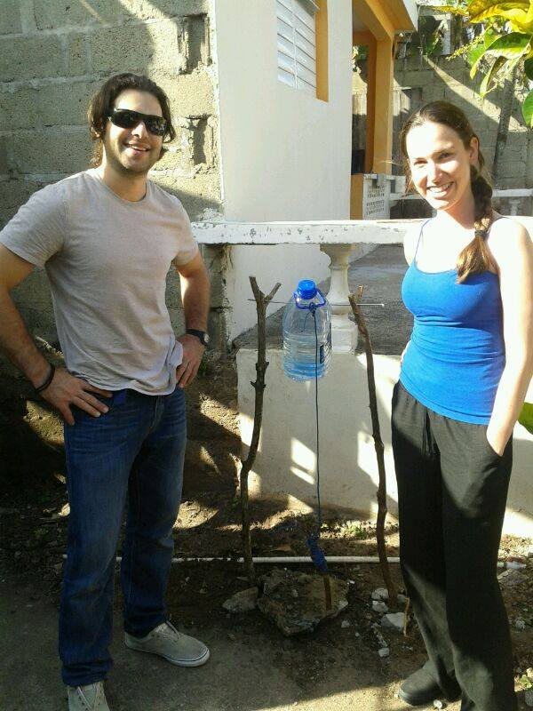 In addition to building fourteen latrines in the area, FIMRC staff and volunteers have installed hands-free hand-washing stations to promote healthy hygiene habits.