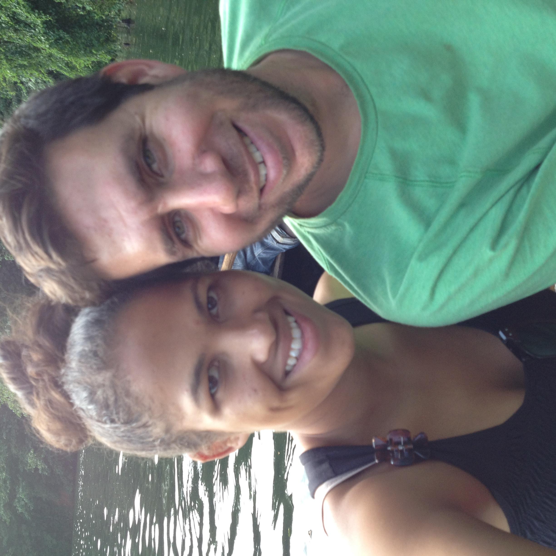 Amber and her husband, Fabian!