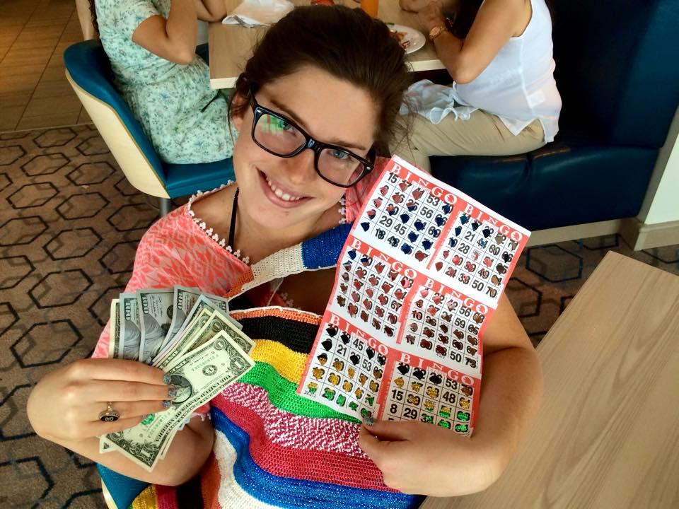 Bingo earnings!