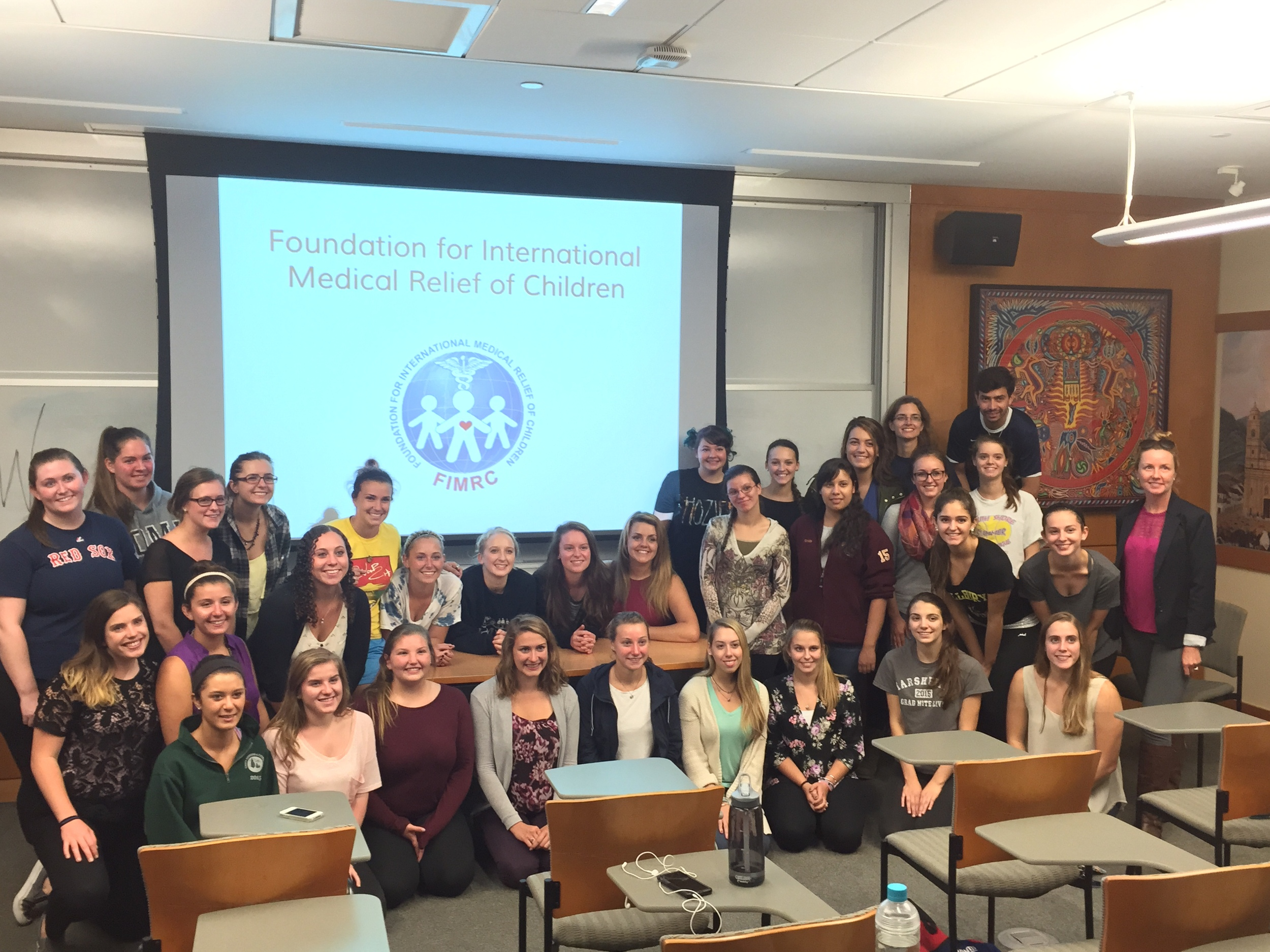 Roger Williams University Chapter Meeting