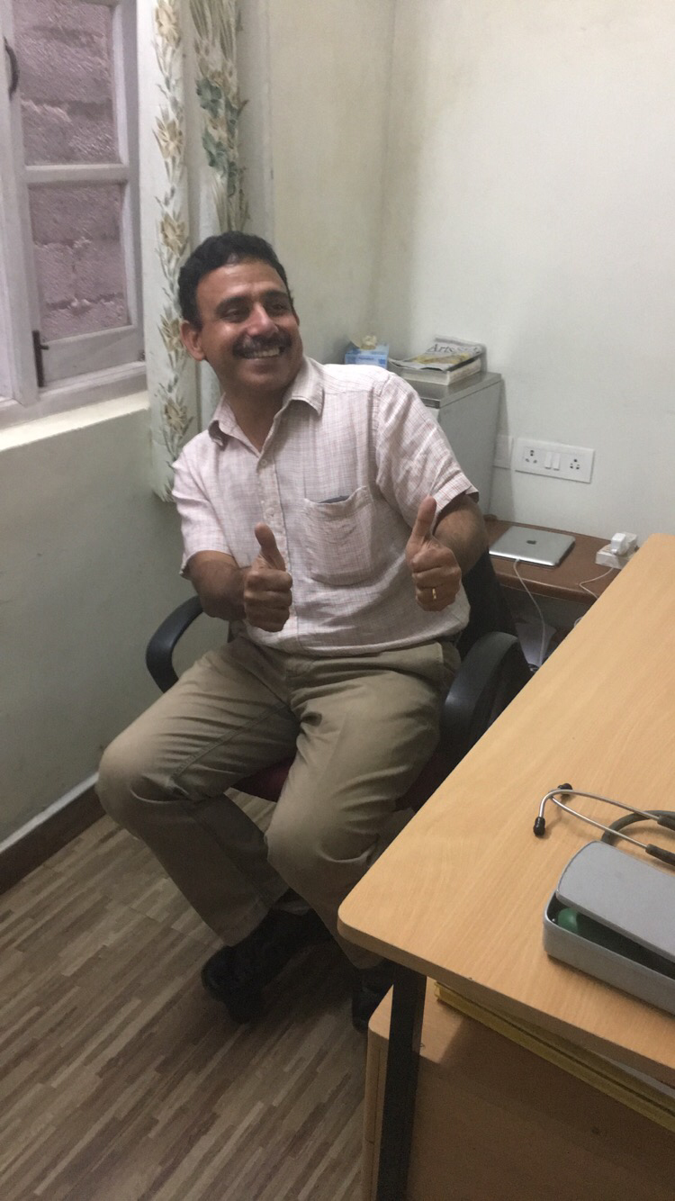 SIHF India  Two thumbs up for Dr. Shusheels for providing such a great learning experience for our SIHF India participants!