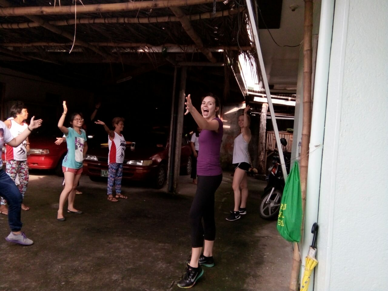 SIHF Philippines  Fellows leading an awesome Zuma lesson with community members!