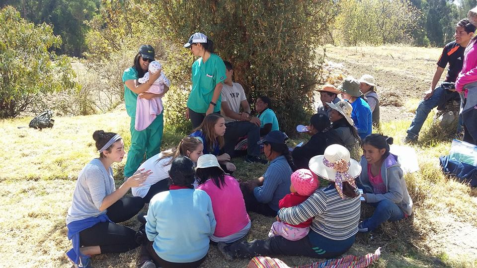 SIHF Huancayo, Peru  Health education with families participating in the Nutrition Program.