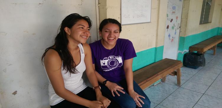 Jackie Orellana sponsored Fatima so she could begin taking English classes in June of 2016!