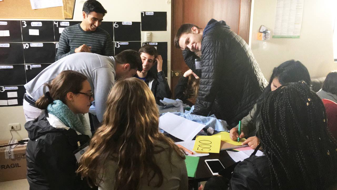 Collaborating on SIHF projects in La Merced, Peru