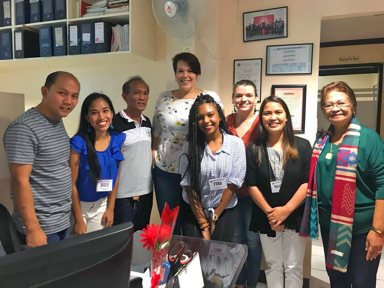 Meeting with the Municipal Counselor for Education in Mendez, Cavite. Planning upcoming youth program partnership in the Philippines