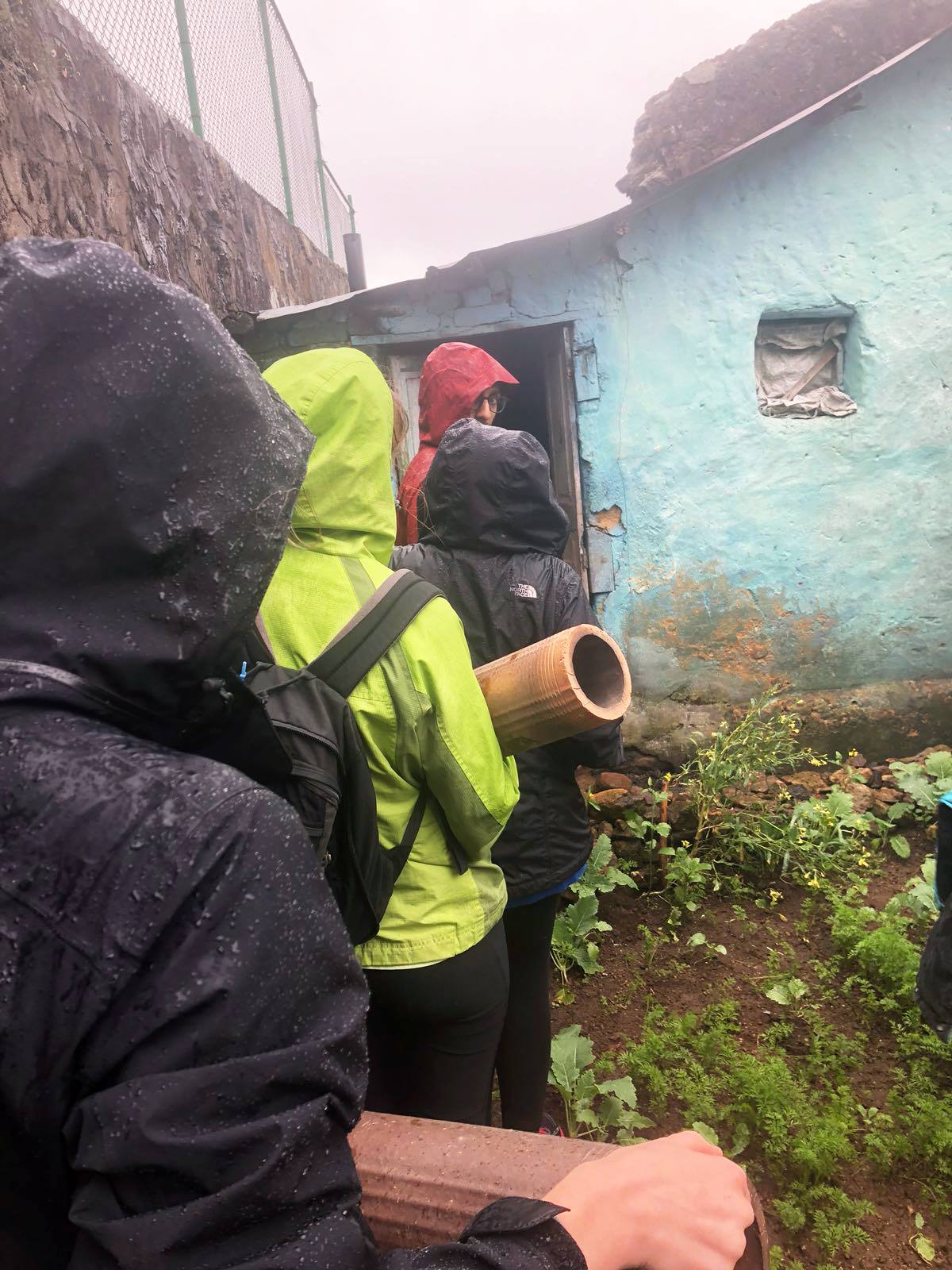 Preventing respiratory infections in Kodaikanal, India. SIHFers installed chimneys in homes without cookstove ventilation.