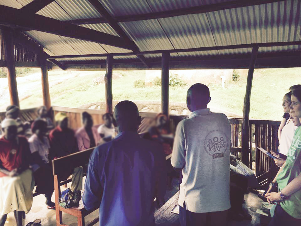 In addition to serving throughout our clinic's station system, Fellows in Uganda participated in meetings and outreach efforts for community members with HIV.