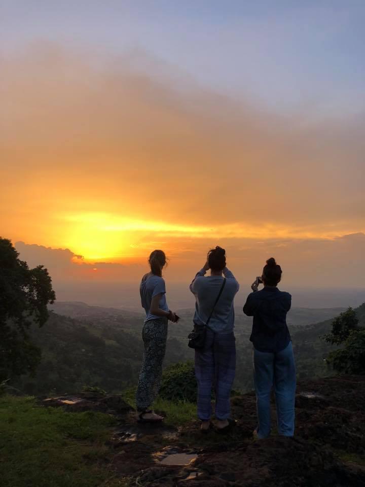 Beautiful sunsets in Uganda!