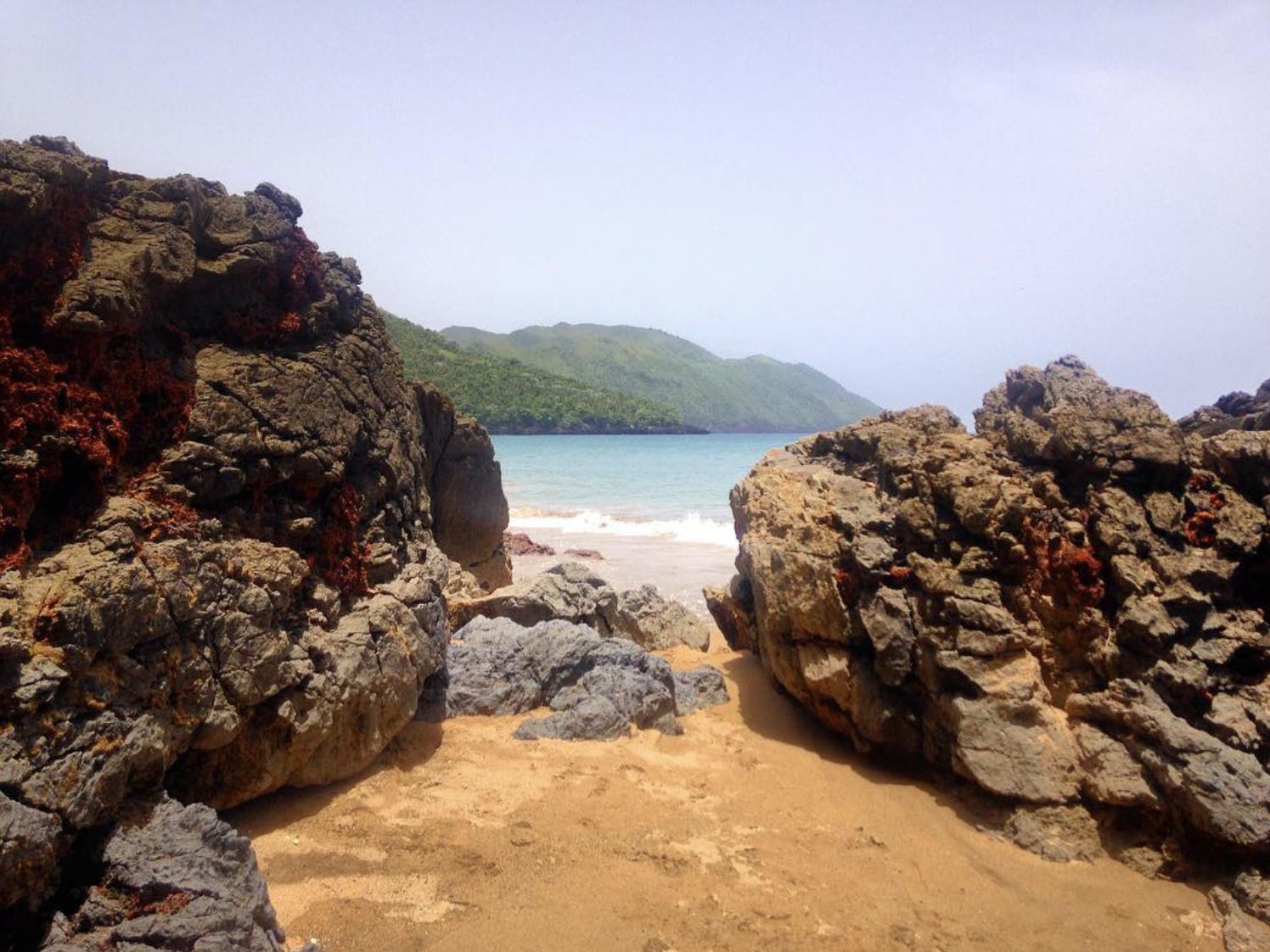Scenic coastal view near Project Restauración, Dominican Republic.