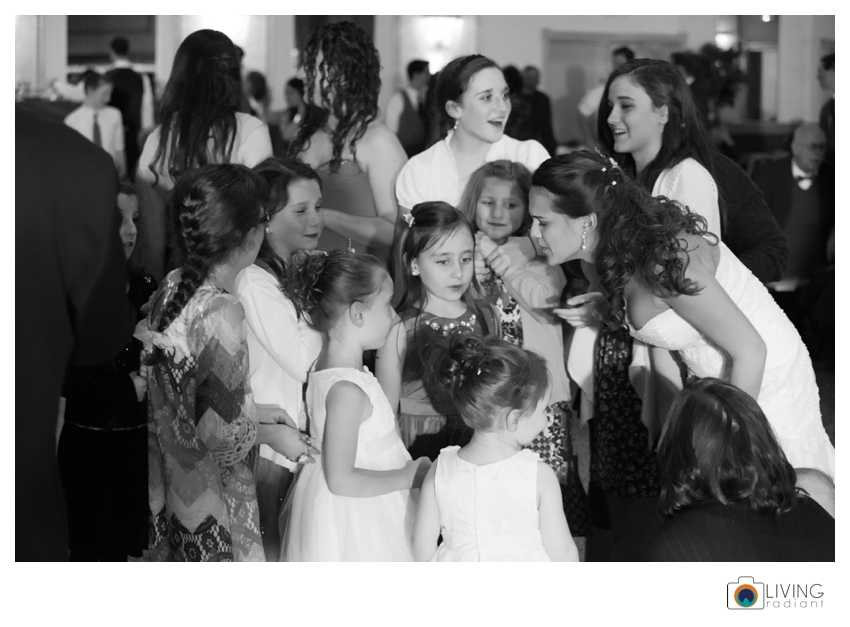 """""""Let it go"""" the song from the movie Frozen was blasted for all the little girls who were at the wedding! It was so sweet. Of course the big girls sang along too!"""
