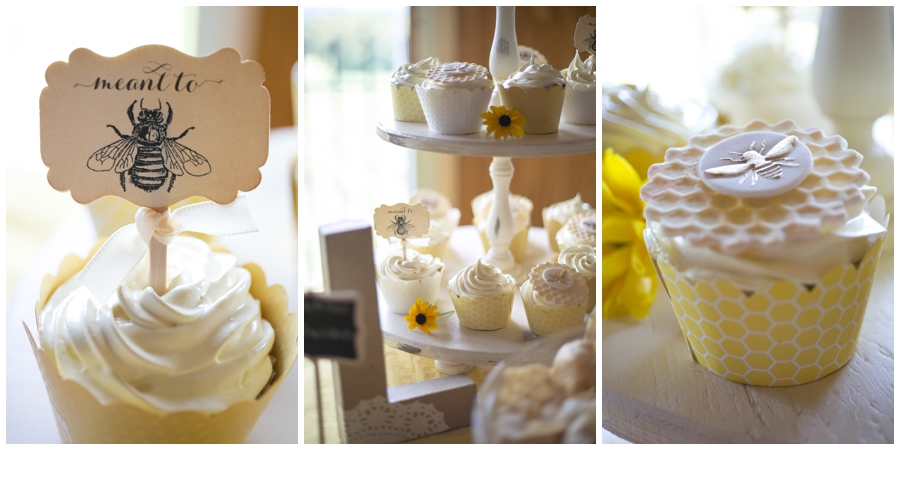 The cupcakes were my favorite detail. Thank you to the woman on Etsy who makes these fondant cupcake decor.