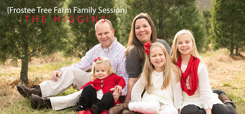 Living Radiant Photography | Maryland Family Photographer | Tree Farm Family Shoot | Family Session