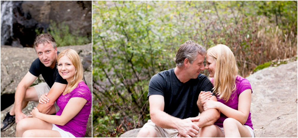 Cunningham Falls State Park | Waterfall Engagement | Living Radiant Photography | Baltimore Best Photographers