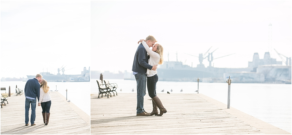 Jenna Robert Fells Point Baltimore Engagement Session Living Radiant Photography photos-16.jpg