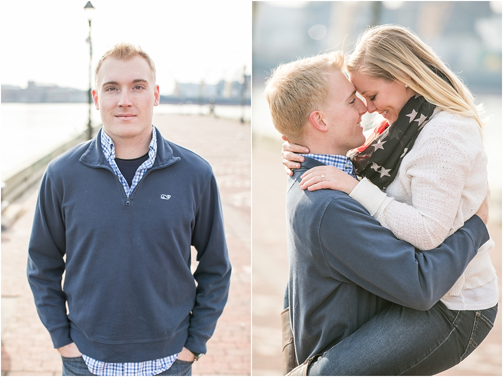 Jenna Robert Fells Point Baltimore Engagement Session Living Radiant Photography photos-20.jpg