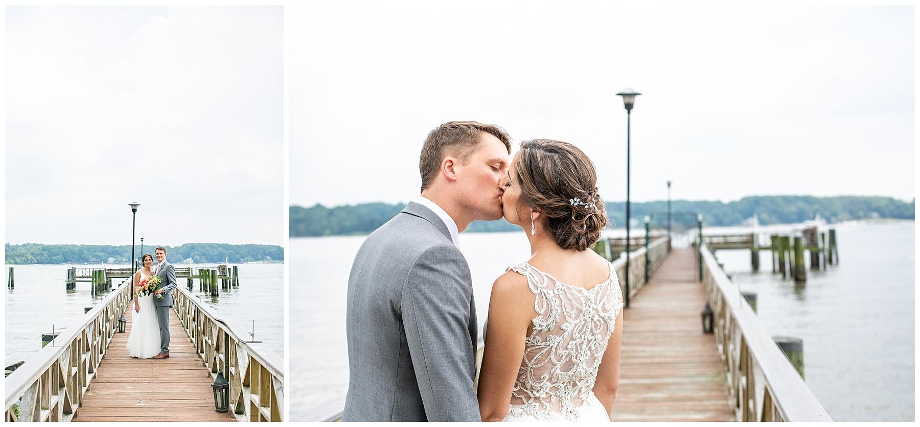 Bohemia River Overlook Wedding | Baltimore Best Wedding Photographers | Baltimore Weddings | Pink Bridesmaids Dresses | Peony Bouquet