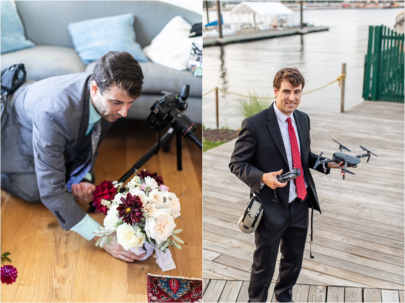 From Drones to Florals, he does it all.