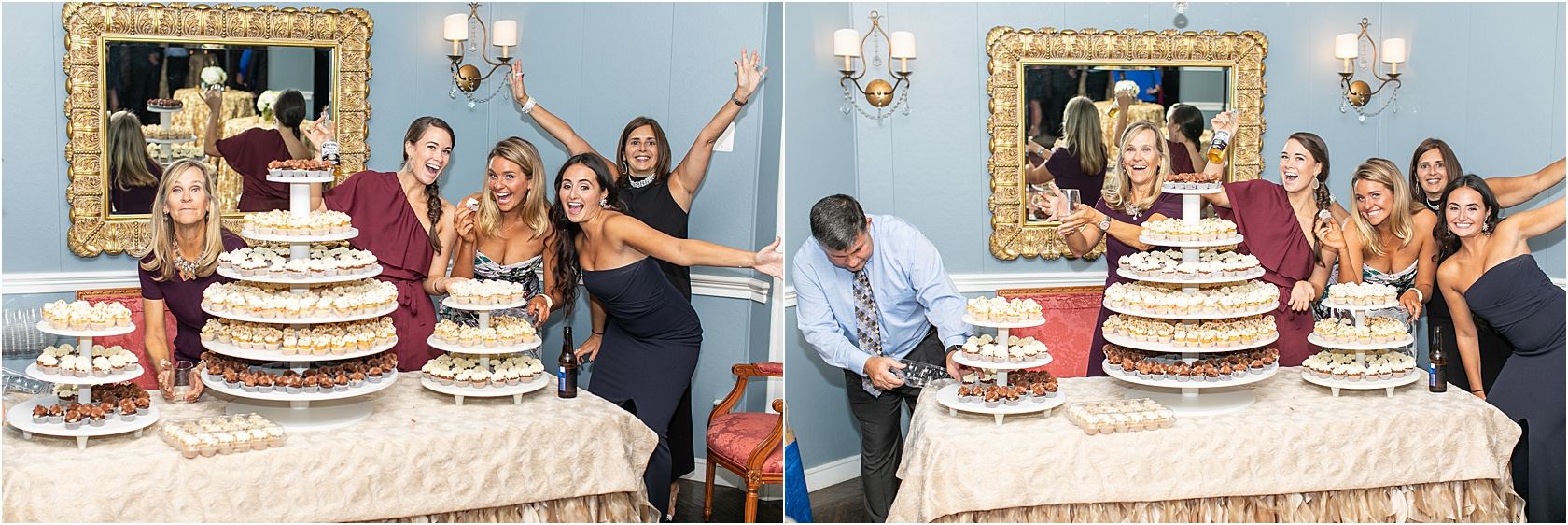 Love this. The baking team was a family attending the wedding and we told them they were a real vendor… they cheered!